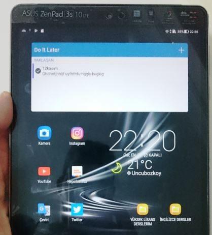 Asus Zenpad 3s 10 (Z500KL) Tablet